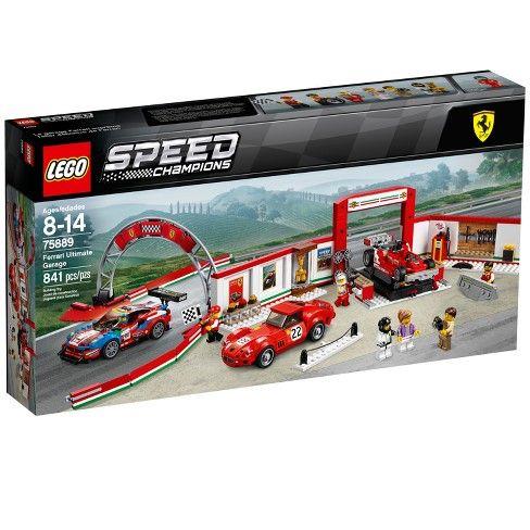 Lego Speed Champions Ferrari Ultimate Garage 75889 Target Lego Speed Champions Ferrari Lego Cars