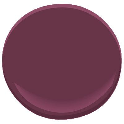 Accent colors colors for bedrooms and wash room on pinterest - Deep burgundy paint color ...