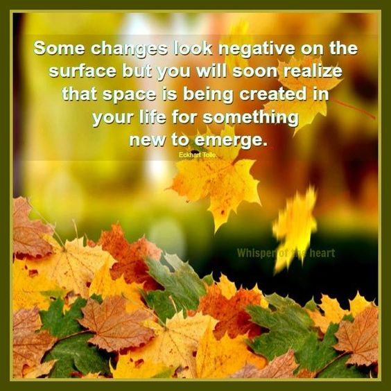 make room in your heart for the new beginning.....