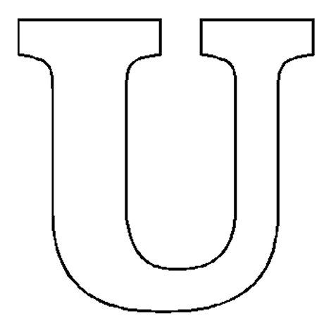 U Alphabet Letter images of the letter u | letter-u.jpg
