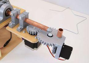 Diy Arduino 3d Wire Bending Machine Arduino Cnc Arduino Projects