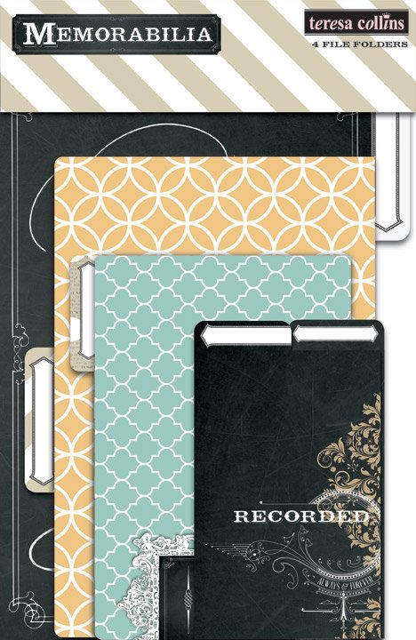 Teresa Collins  Memorabilia Collection  File by SharBearCrafts, $4.99