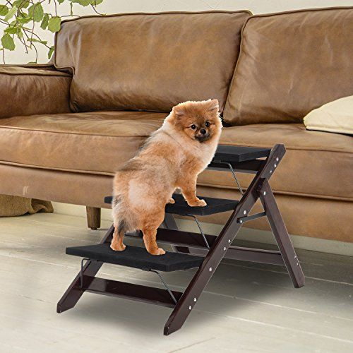 Festnight 2 In 1 Convertible Folding Pet Dog Ramp Portabl Https Www Amazon Com Dp B07cg5nd8l Ref Cm Sw R Pi Dp U With Images Pet Stairs Dog Stairs Cat Steps