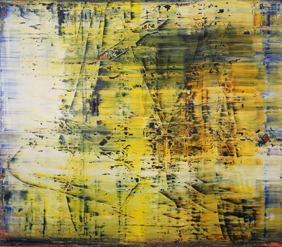 abstract yellow # 17 (SOLD), Harry Moody