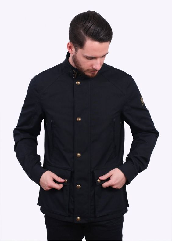 Belstaff New Tourmaster Jacket - Ink Blue