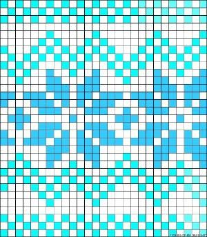 Norwegian perler bead pattern by clara