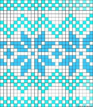 Norwegian perler bead pattern by clara