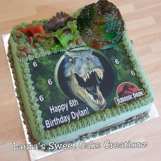 Jurassic Park Birthday Cake Made By Me Birthday
