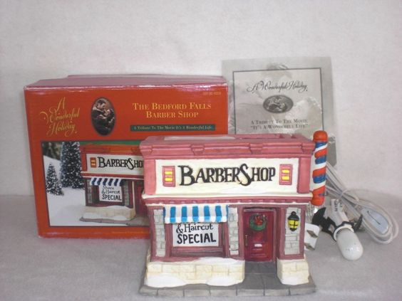 Shops Its A Wonderful Life And Barbers On Pinterest
