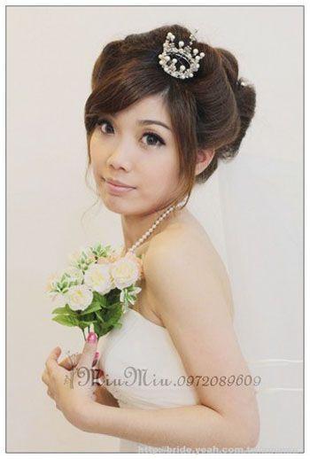 bridal hairstyle amp bridal gown wedding dress yeah