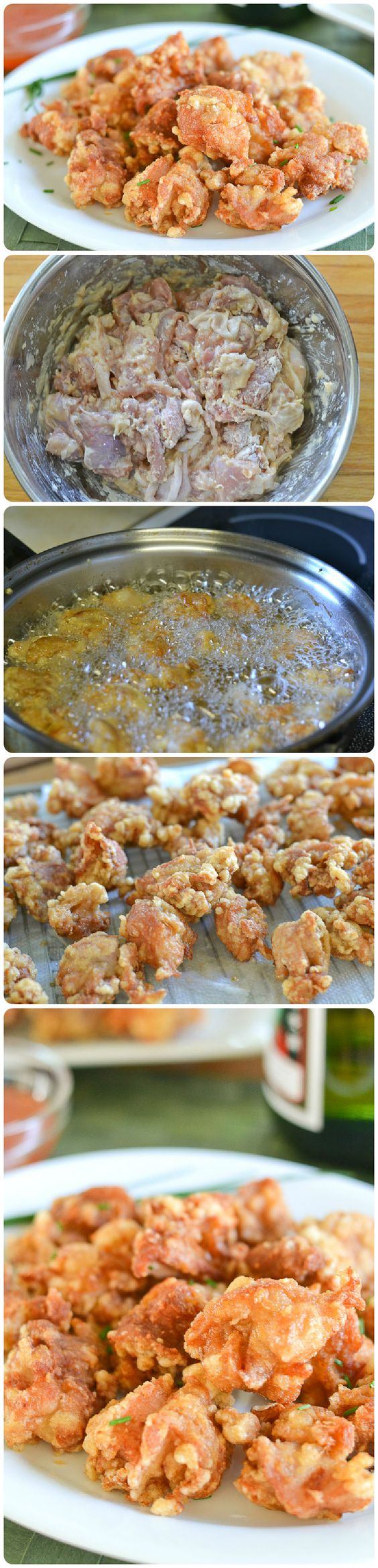 Chicken Kara-age (Japanese Style Fried Chicken)