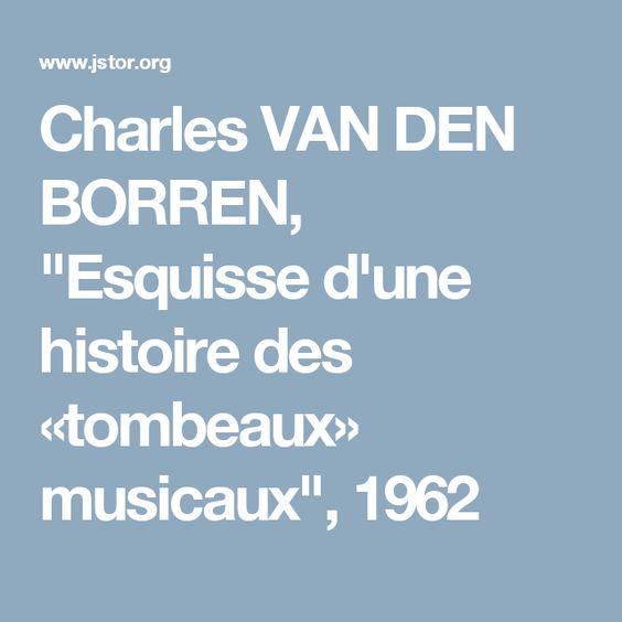 Charles Van Den Borren