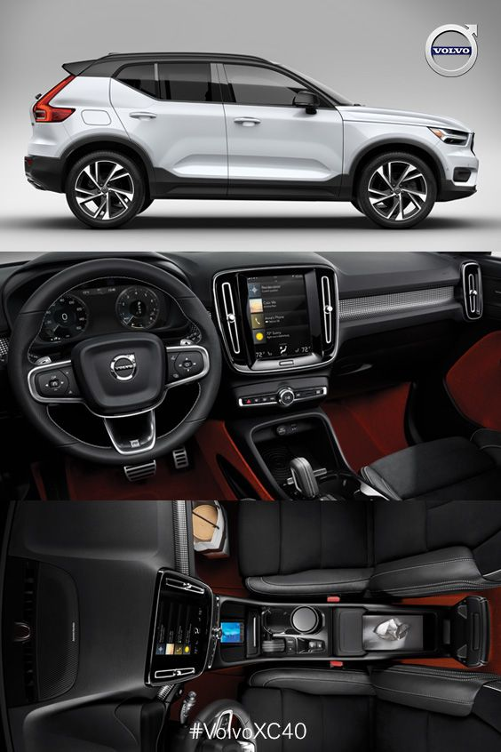 The New Volvo 2019 Xc40 A Sporty Safe Suv Well Equipped With Unique And Innovative Features Safest Suv Suv Cars Volvo Cars