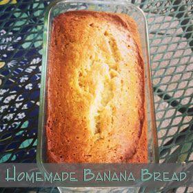 DD Kimball Road: Homemade Banana Bread