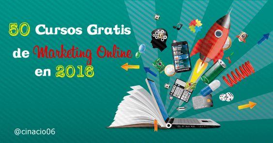 50 Cursos Gratuitos Online de Marketing Digital que no te debes perder en 2016 #cursos #MarketingDigital #marketing