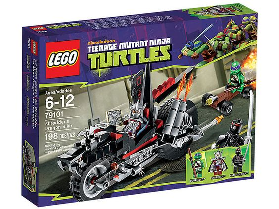 Shots Of All The Upcoming Ninja Turtle LEGO Sets