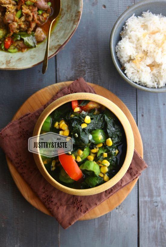 Sayur Daun Katuk Katuk Leaves In Clear Soup Sayuran Labu Resep