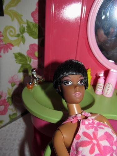 Retro Vintage Barbie Salon LOT Beauty House OOAK Pop Life Ash ...