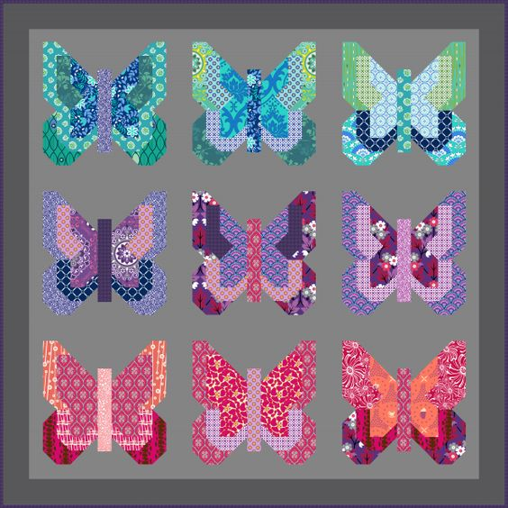 Cheater Quilt Top Available Exclusively On Patternjam