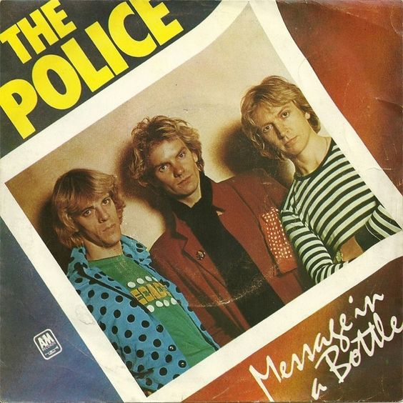 The Police – Message in a Bottle (single cover art)