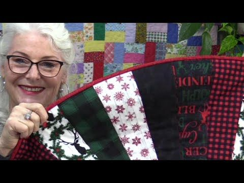 How To Bind A Round Quilt Inside And Outside Sides Youtube Quilts Quilting Videos Quilt Binding