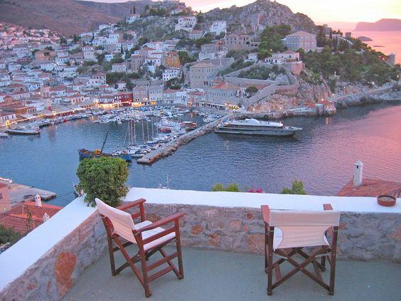 Stadt und Hafen im Blick - Ferienhaus für bis zu 9 Personen auf Hydra, Griechenland. Objekt-Nr. 384122