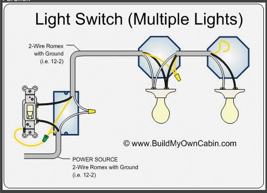 Wire Multiple Ceiling Lights In Barn Home Electrical Wiring Light Switch Wiring Electrical Wiring