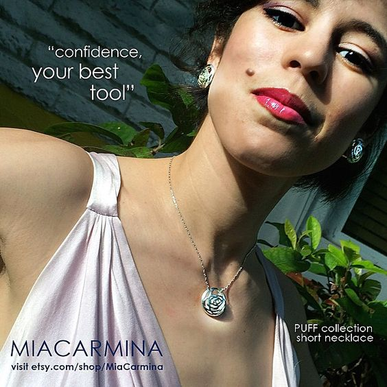 PUFF collection short necklace #miacarmina #modernjewelry #style #silverjewelry #sterlingsilver  #statementjewelry #necklace #designerjewelry #diseñamosParaTi #brandjewelry #collar #contemporaryjewelry #plata925 #joyas #joyasdeautor #jewelrydesign #jewelrymaking #jewelrytrends #joyeriadeautor #jewelrycollection #puff