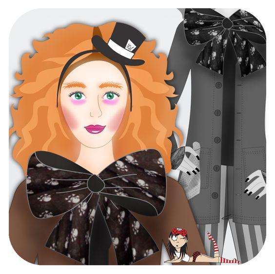Cookie Plushie: Especial Halloween - Chapeleiro Maluco