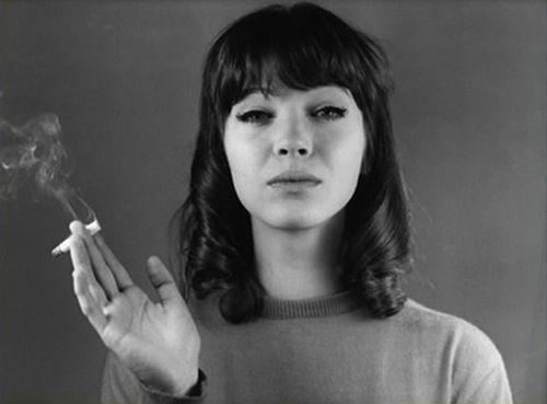 Anna Karina , born in Denmark, but spent her working life in France, and is a French citizen. Godard muse and is famous for her dance scenes in Vivre Sa