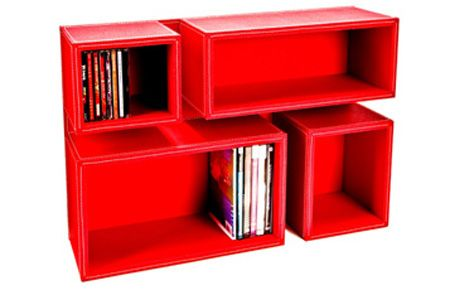 Porta CD e DVD de parede | Hits Móveis Para Organização