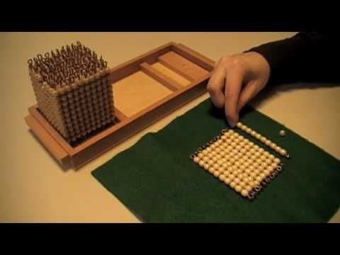 Montessori - Decimal System - Introduction to Quantity