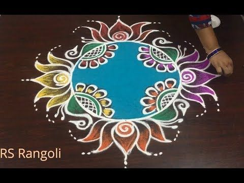 Happy New Year Rangoli Design Gallery 45