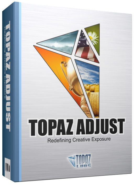 New!  Topaz Adjust 5 is the easiest way to make your photos pop.    Sporting new presets, a completely redesigned interface and upgraded image processing algorithms, Topaz Adust 4 offers a new way for photographers to improve their images quickly.