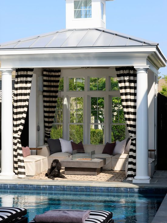 16 Lovely Pool Cabana Design Ideas | Home Features | Pool ...
