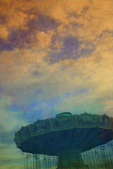 "See paintings from Linda Plaisted's  ""Luna Park"" series at artstream Studios Gallery in Rochester, New Hampshire, opening tonight and running through July 13.