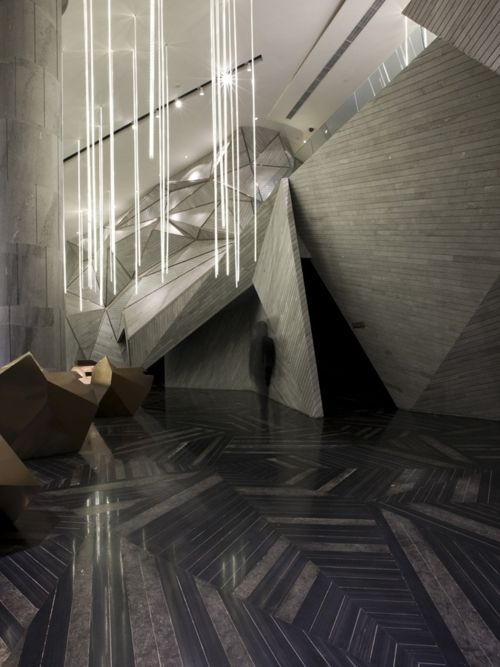 Chongqing Mountain & City Sales Office designed by One Plus Partnership,