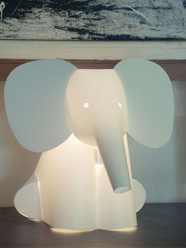 Elefantenlmape für das Kinderzimmer