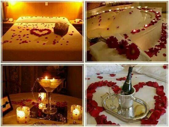 Para una noche romantica things i love pinterest for Ideas noche romantica