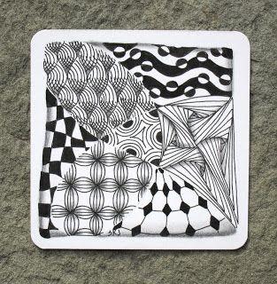 Sue's tangle trips: 'Jilli' - new tangle pattern