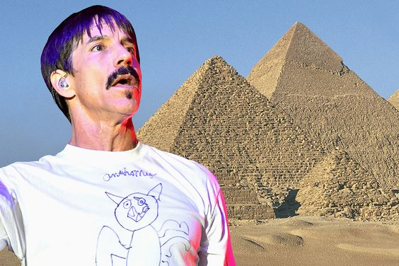 Red Hot Chili Peppers To Livestream their performance in Egypt