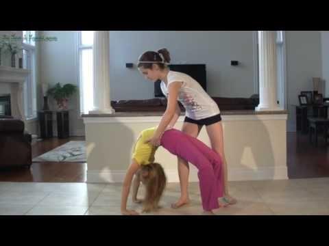 How to Do a Bridge Kickover - gymnasticshq.com