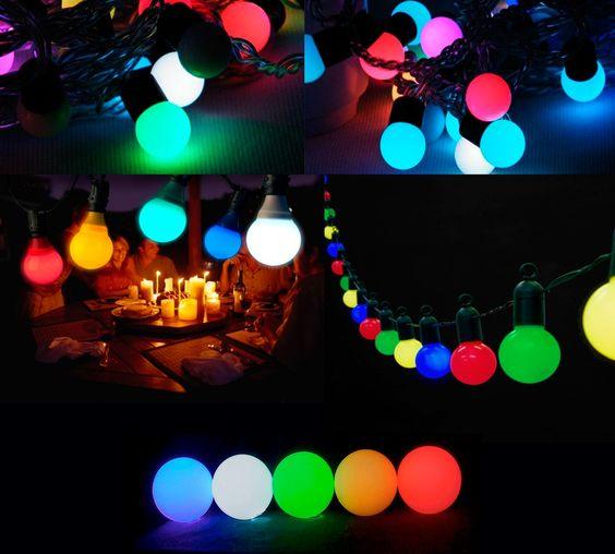 lampadas coloridas - Pesquisa Google