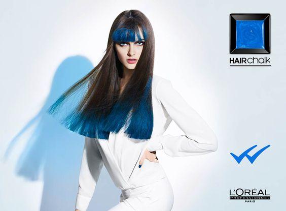 L'Oréal Professionnel Per noi le (s)punte blu non sono una novità.