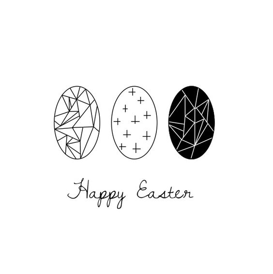 Happy Easter - Free printable Lotjedotje