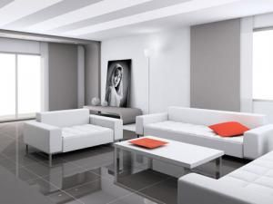 Comment Entretenir Un Carrelage Brillant Salon Moderne Gris