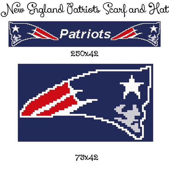 Free Crochet Pattern For New England Patriots Afghan : Pinterest The world s catalog of ideas