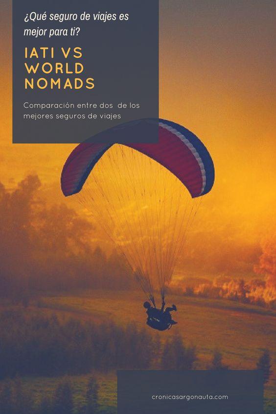 Comparación entre Iati seguros de viaje y World Nomads. Cada viajero necesita un seguro diferente. Por ello, te recomiendo que leas esta entrada, compares y decidas cuál es el que te conviene.
