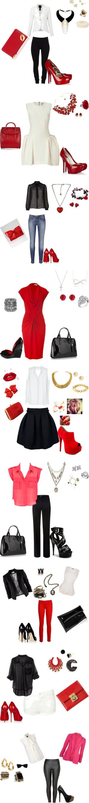 """Different Looks of a Trini"" by phatshionistagirl on Polyvore"