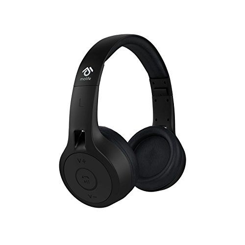 Buy Molife Groove Mo Bthp01 Over Ear Wireless Headphones At Rs 549 From Amazon Loot Deals India Wireless Headphones Headphones Black Headphones